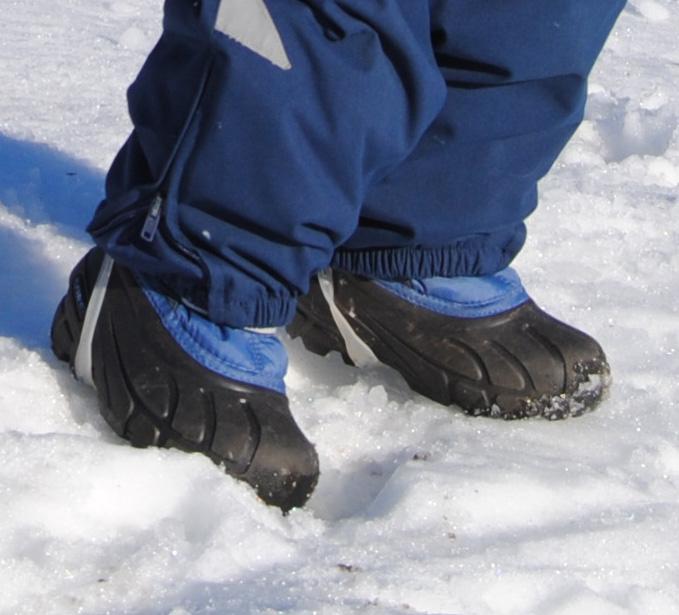 18adb51c Barnet har ikke blitt kald på føttene ved noen anledning. Ulempen er at de  kan bli litt for varme på de varmeste dagene.