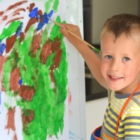 Barns tegninger 2 – 7 år