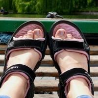 Sko og sandaler til barn