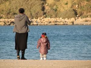 De blir nok like store til slutt. Barn blir som regel like høye som sine foreldre.